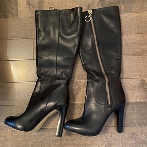Leather boots new size 35